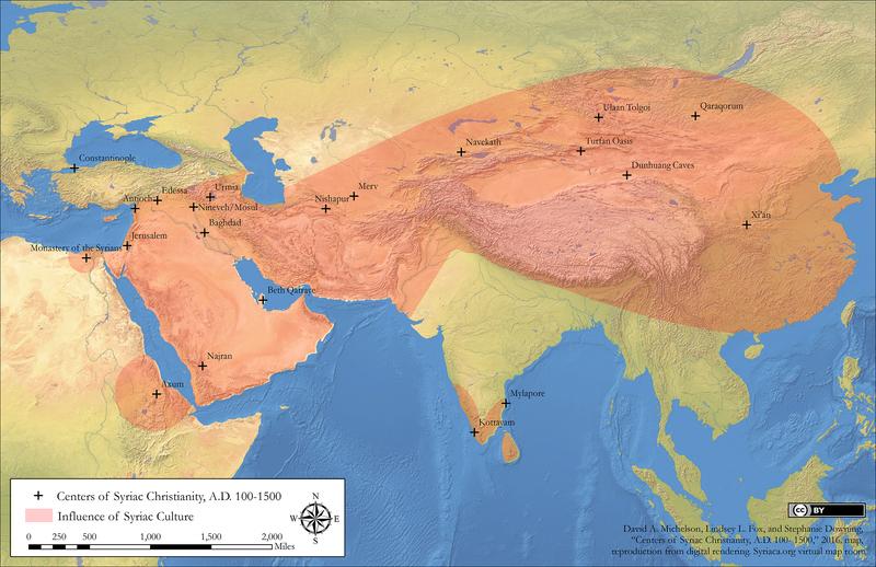 Centers of Syriac Christianity