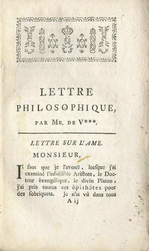 <em>Lettre philosophique</em>