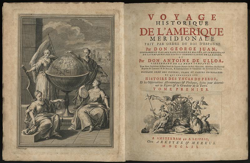 Voyage historique de l'Amerique Meridionale