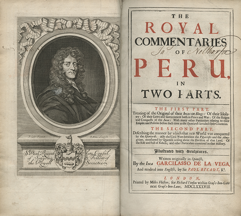 The Royal Commentaries of Peru, in Two Parts