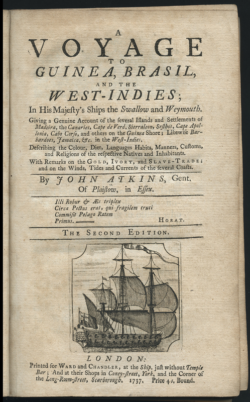 A Voyage to Guinea, Brasil, and the West-Indies