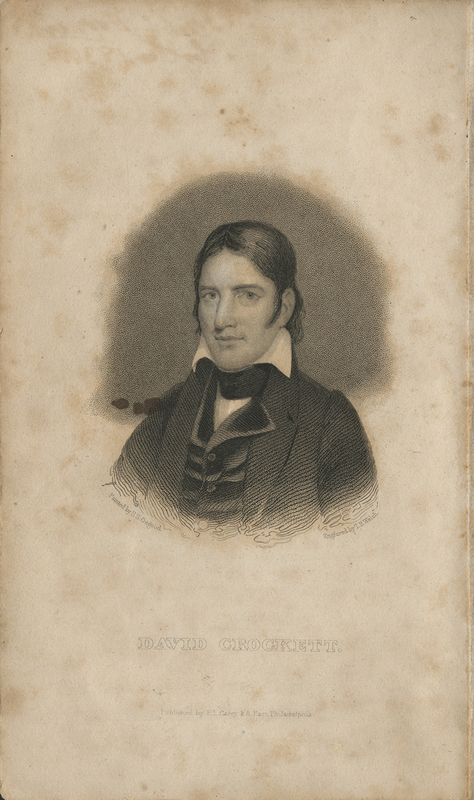 Col. Crockett's Exploits and Adventures in Texas : Wherein is Contained a Full Account of his Journey from Tennessee to the Red River and Natchitoches, and Thence Across Texas to San Antonio : Including his Many Hair-Breadth Escapes : Together with a Topographical, Historical, and Political View of Texas
