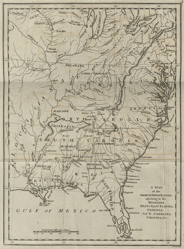 History of the American Indians: Particularly Those Nations Adjoining to the Missisippi [!] East and West Florida, Georgia, South and North Carolina, and Virginia...