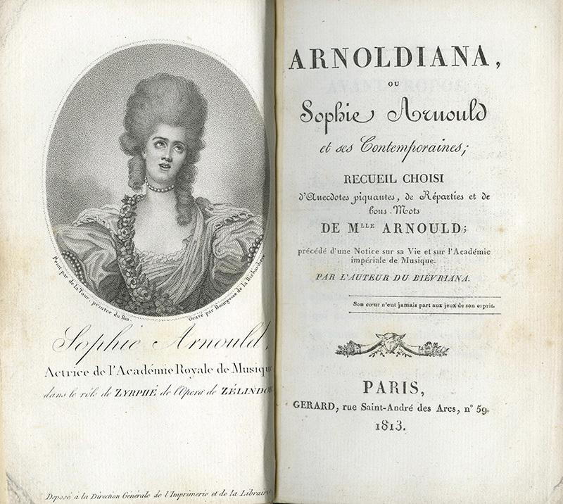 <em>Arnoldiana, ou, Sophie Arnould</em>
