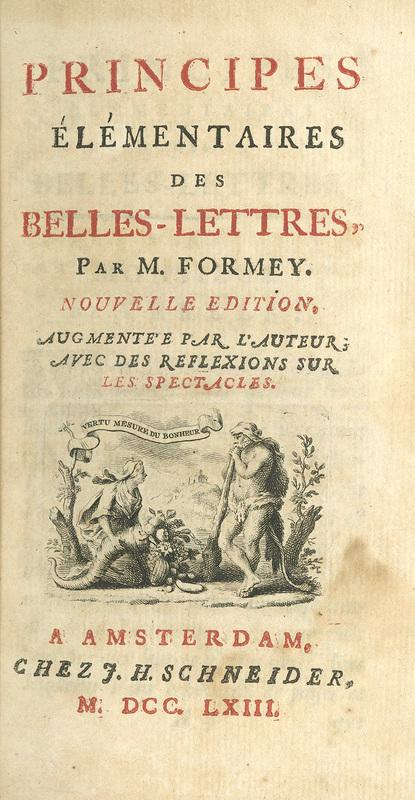 <em>Principes élémentaires des belles-lettres</em>