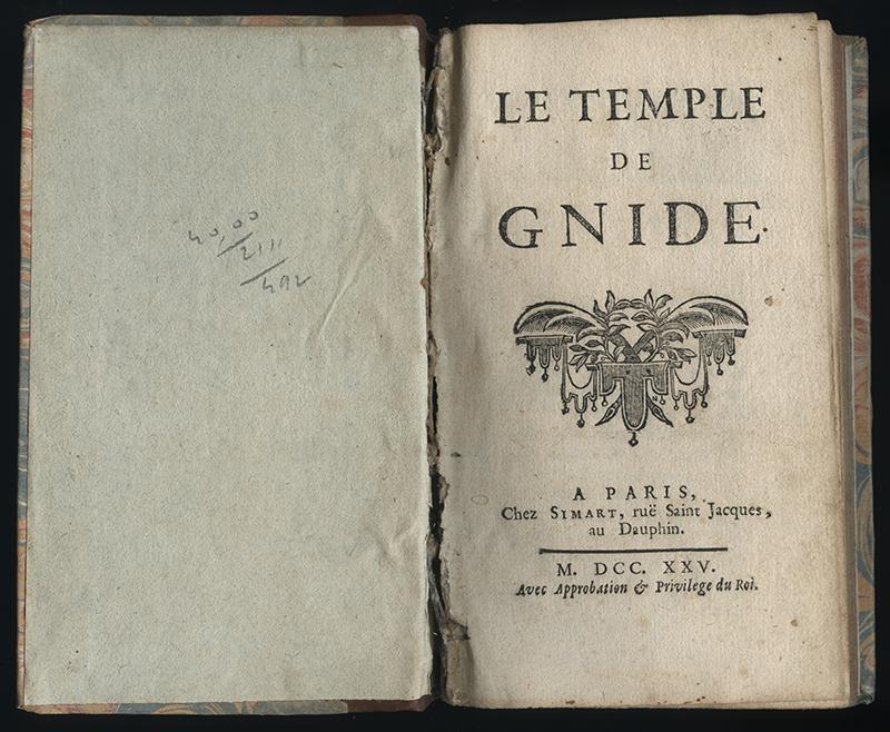 <em>Le temple de Gnide</em>