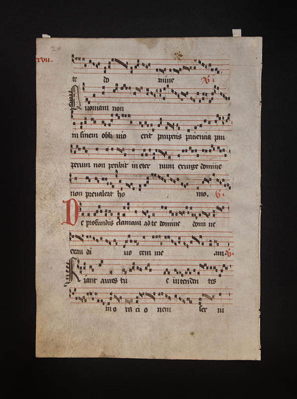 [Antiphonary Leaf with Edits]