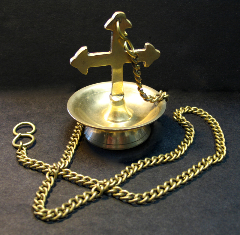 [Brass Liturgical Lamp]