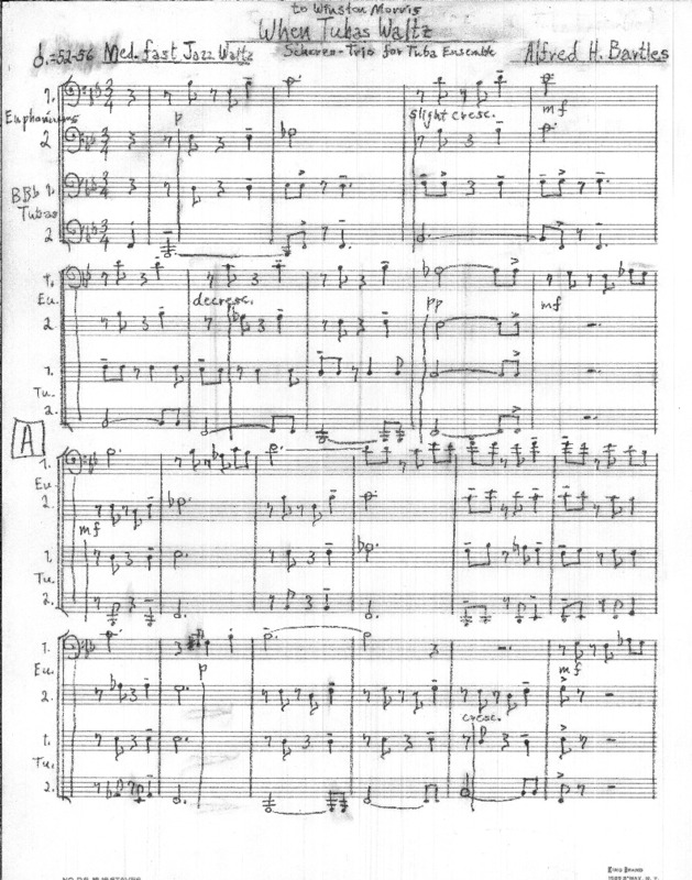 When Tubas Waltz