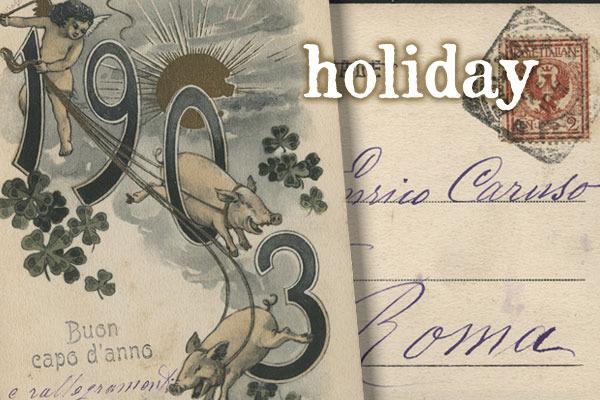 Caruso: Holidays