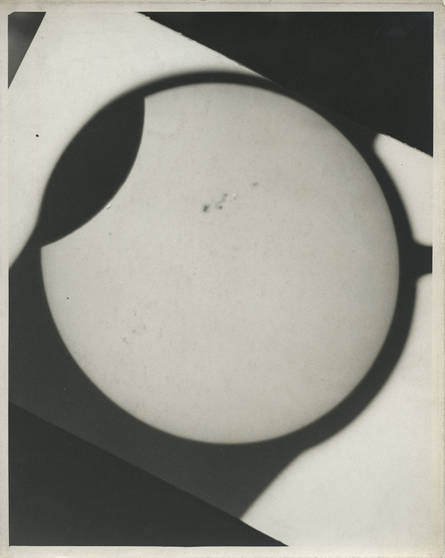 [Partial Solar Eclipse and Sunspots of November 23, 1946, 1 of 3]
