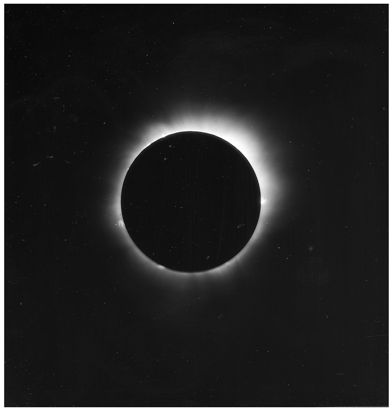 Photographing Solar Eclipses from the Nineteenth to Mid-Twentieth Century