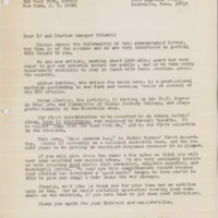 [Letter from Alfred H. Bartles and Bryan Lindsay to a radio station manager]