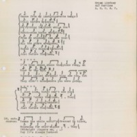 [Lyric sheets from Bryan Lindsay to Alfred Bartles]