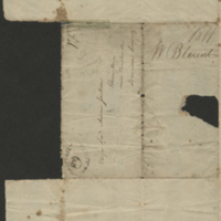 [Letter to Andrew Jackson by Tennessee Governor Willie Blount on Indian Affairs]