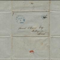 [Letter to Howell Tatum Davis, March 1, 1847]