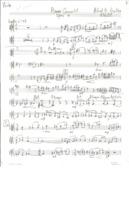 Piano quartet : for violin, B♭ clarinet, (or viola), violoncello, and piano