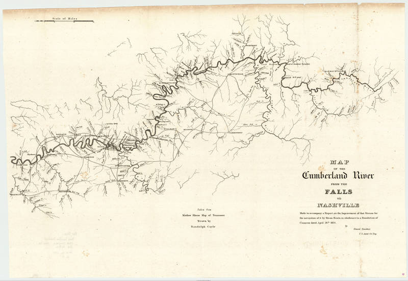 Rhea, Matthew and Coyle, Randolph - 1834 - Map of the Cumberland River from the Falls to Nash.jpg