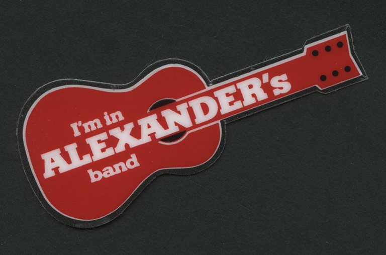 http://libexh.library.vanderbilt.edu/impomeka/2015-exhibit/MS0734-Alexander-sticker-band.jpg