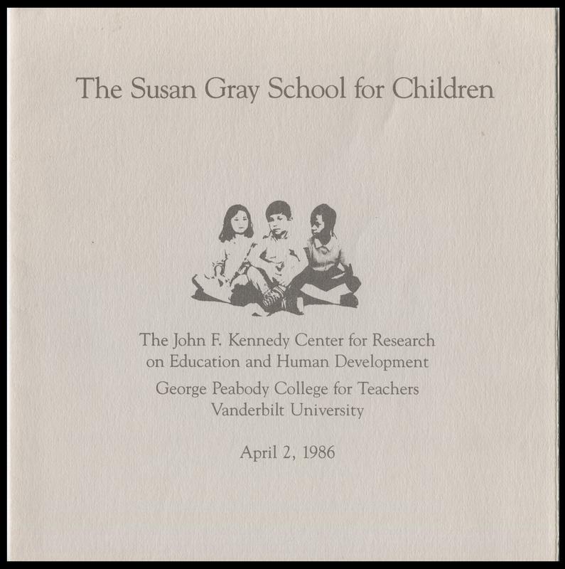 The Susan Gray School for Children