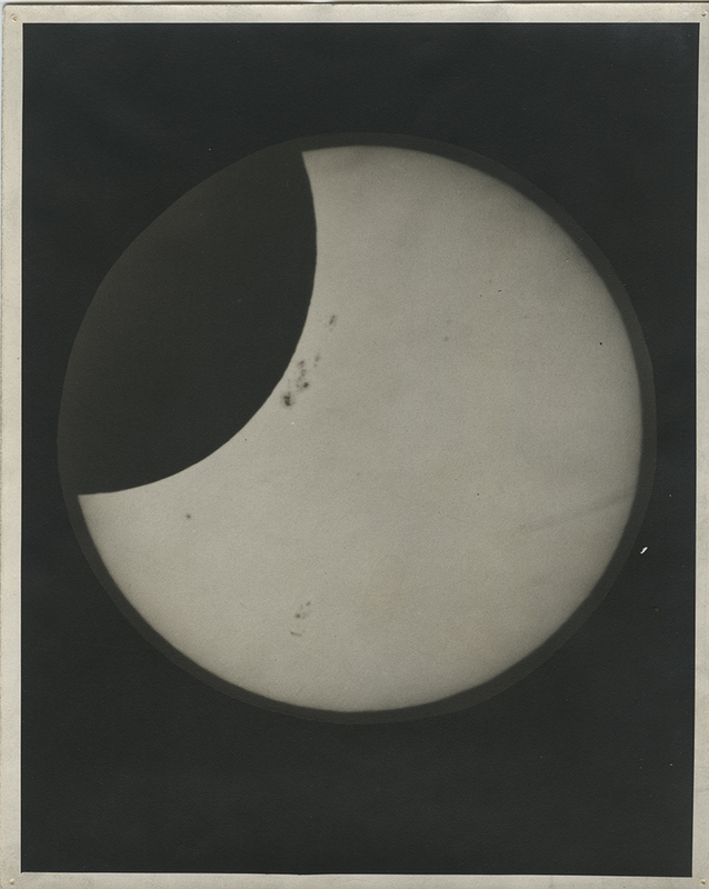 [Partial Solar Eclipse and Sunspots of November 23, 1946, 3 of 3]