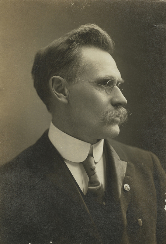 [James H. Stevenson's Portrait]<br />