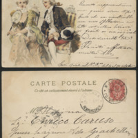 [French 18th Century Couple]