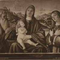Virgin and Child with Saints Jerome and Catherine (Vittore Carpaccio)