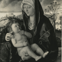 Madonna and Child in a Landscape (Giovanni Bellini)