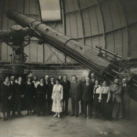 [Albert Einstein with the Staff of Yerkes Observatory]