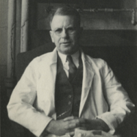 [Dr. Ernest W. Goodpasture in His Lab]