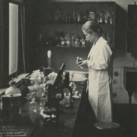 [Dr. Katherine Anderson in the Laboratory]
