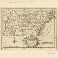 A new map of North & South Carolina, & Georgia