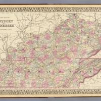 Mitchell et al. - 1880 - County map of Kentucky and Tennessee.jpg