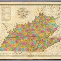 Vance et al. - 1826 - Map of Kentucky and Tennessee compiled from the l.jpg