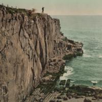 [Sea Wall at Bald Head Cliff, York, Maine]