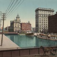 [Erie Canal at Salina St., Syracuse NY]