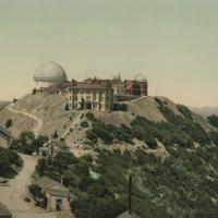 [View of Lick Observatory, Mt. Hamilton, CA]
