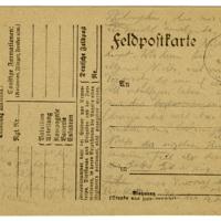 [Notes of Der Stern der Erlösung on Army Postcards]