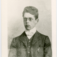 [A Young Franz Rosenzweig, Seated in Suit]