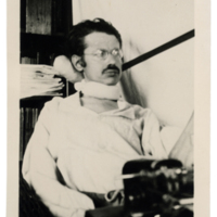 [Franz Rosenzweig at the Writing Desk]