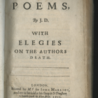 Poems, with Elegies on the Author's Death