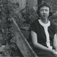 [Portraits of Flannery O'Connor]