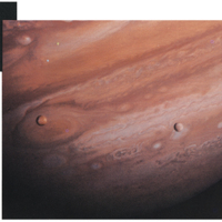 Hubble Space Telescope Image of Jupiter, from within 'Designing an Observatory for Maintenance in Orbit The Hubble Space Telescope Experience'