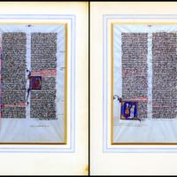 [Manuscript Latin Bible, Leaf 13]