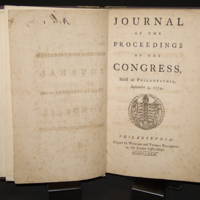 Journal of the Proceedings of the Congress, Held at Philadelphia, September 5, 1774