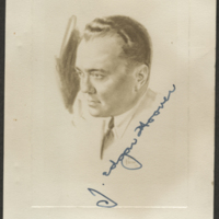 [Portrait of J. Edgar Hoover]