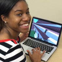 Anjelica Saulsberry Builds a Model of the Vanderbilt University Central Library in Minecraft