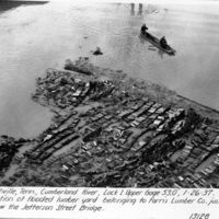 [The 1937 Flood: A Look at Farris Lumber Company]