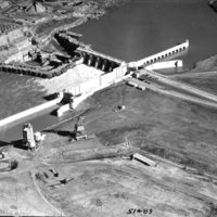 [Construction of Old Hickory Dam]